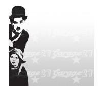 Charlie Chaplin e monello 48x191 cm