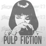 Pulp fiction 51x60 cm
