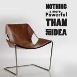 Power of Idea -  Sticker 50x50 cm