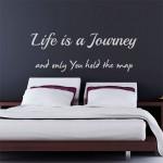 Life is a Journey-L= 220 cm