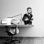 La tua foto  - Adesivo murale 57x100 cm