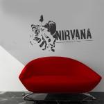 Nirvana - Adesivo murale 100x58 cm