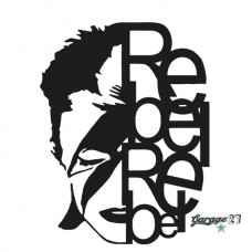 David Bowie   Adesivo murale 55x72 cm