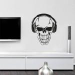 Skull mp3 - 58x72 cm