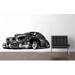 Retro car - 153x57 cm