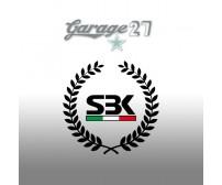 SBK alloro | Sticker sagomato da 8 cm