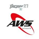 AWS Wheels | Sticker sagomato da 13 cm