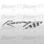 Racing  | Sticker sagomato da 10 cm